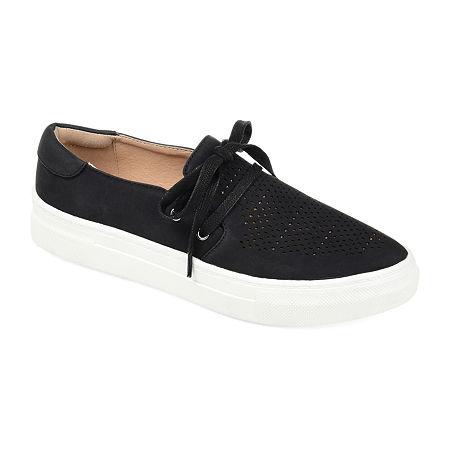 Journee Collection Womens Shantel Slip-On Shoe, 8 1/2 Medium, Black