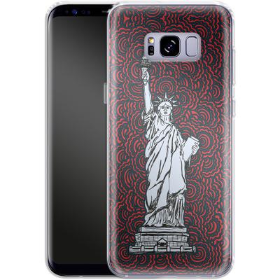Samsung Galaxy S8 Plus Silikon Handyhuelle - Liberty von Kaitlyn Parker