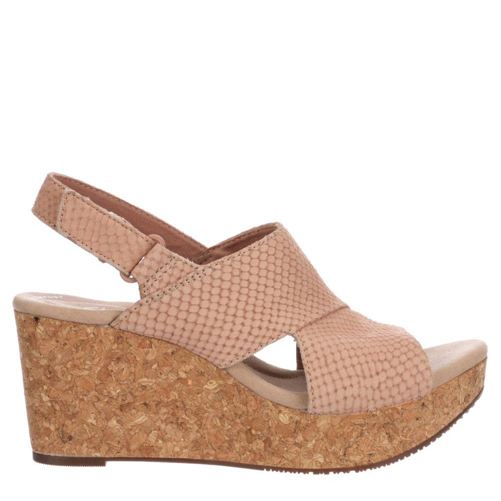 Clarks Womens Annadel Sky Wedge Sandal