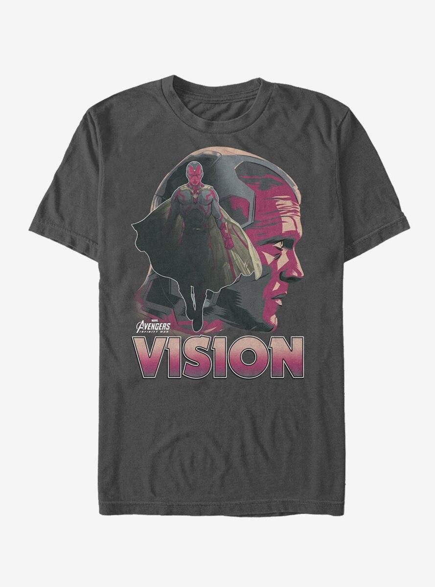 Marvel Avengers: Infinity War Vision Portrait T-Shirt