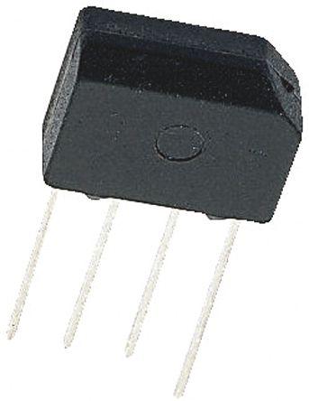 Vishay KBL005-E4/51, Bridge Rectifier, 4A 50V, 4-Pin KBL (5)