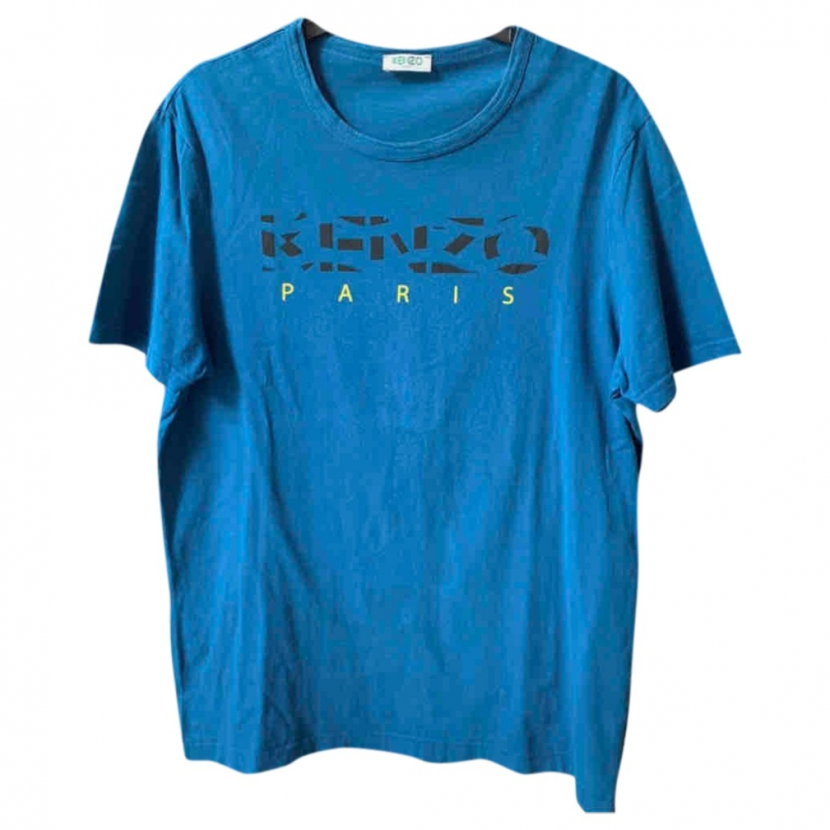Kenzo \N Blue Cotton  top for Women 36 FR