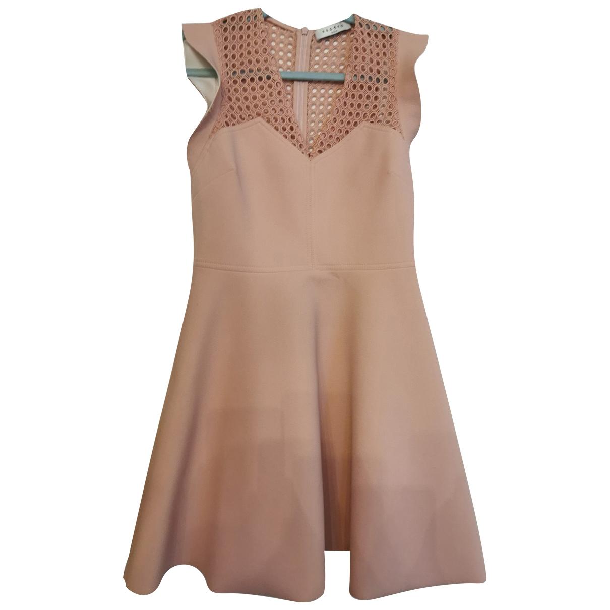 Sandro \N Beige dress for Women 10 UK