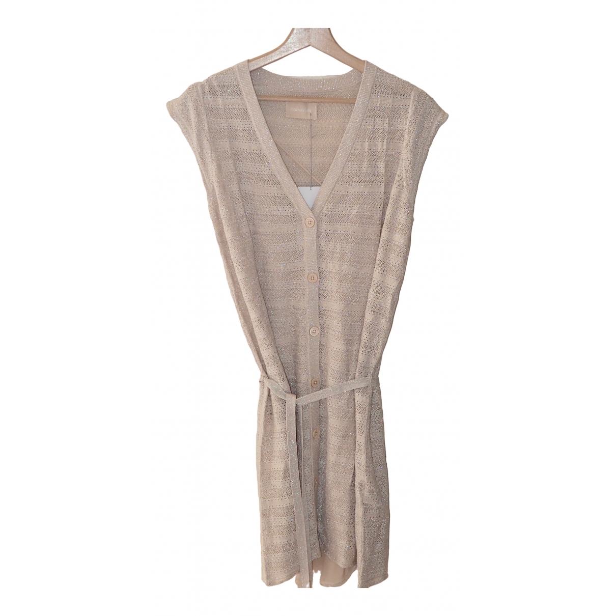 Zadig & Voltaire \N Kleid in  Beige Synthetik