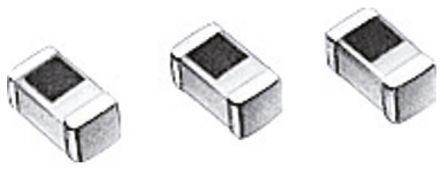 TDK 1.2 nH ±0.3nH Multilayer SMD Inductor, 0603 (1608M) Case, SRF: 20GHz Q: 8 600mA dc 100mΩ Rdc (10)