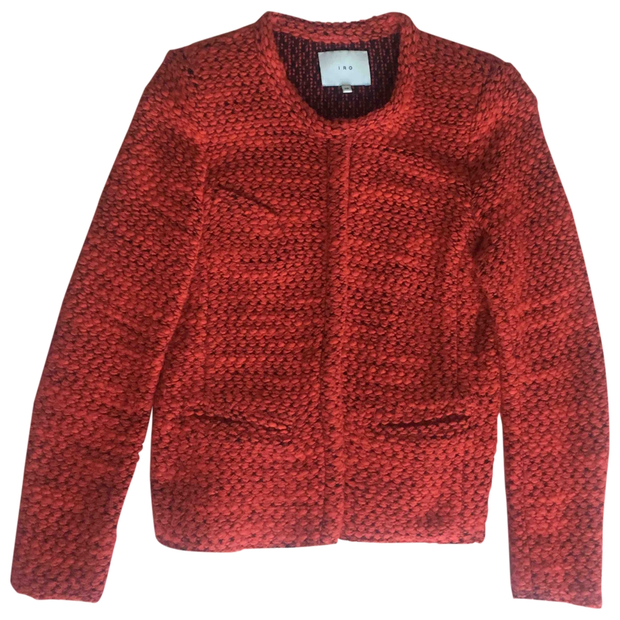 Iro \N Red Wool jacket for Women 38 FR