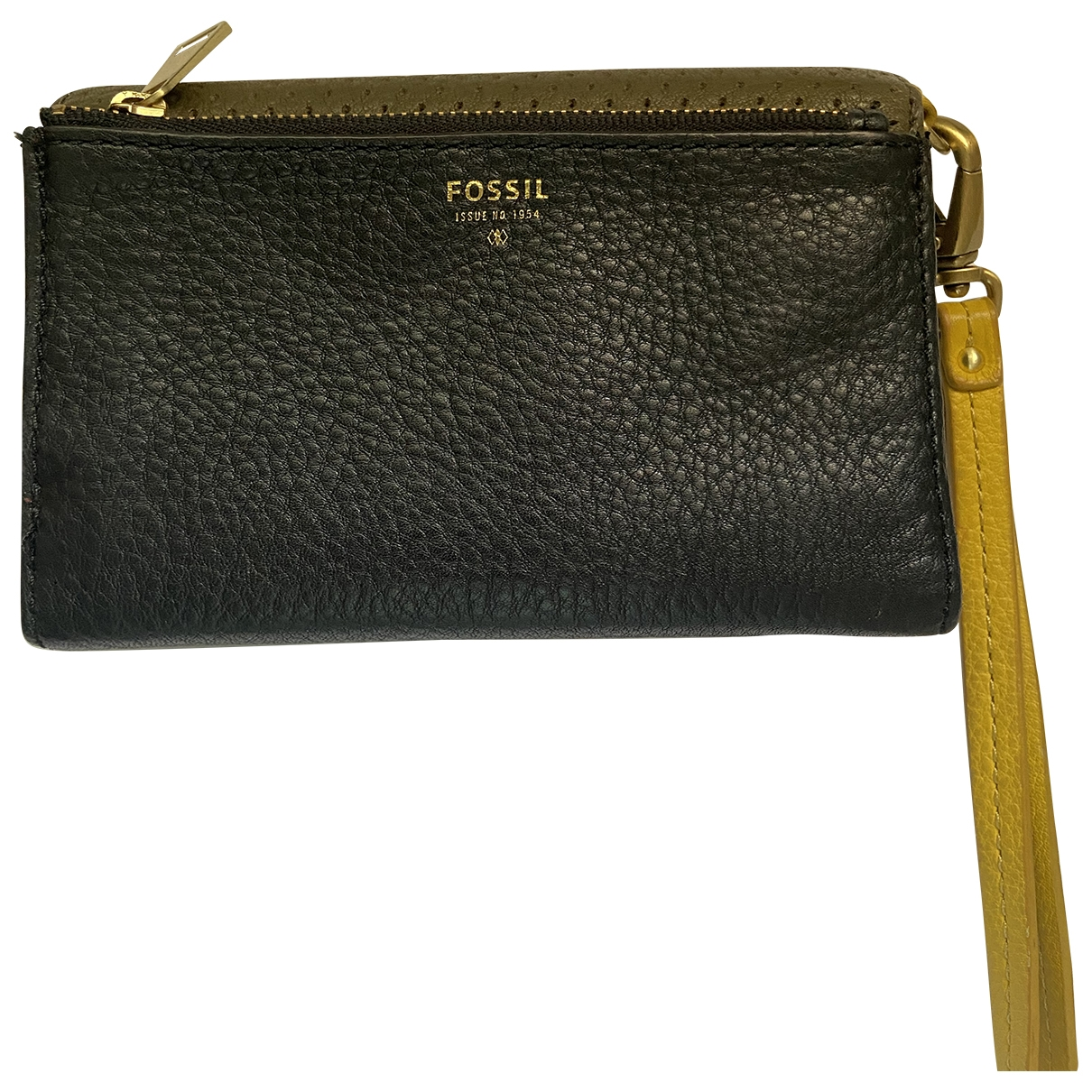 Fossil \N Black Leather wallet for Women \N
