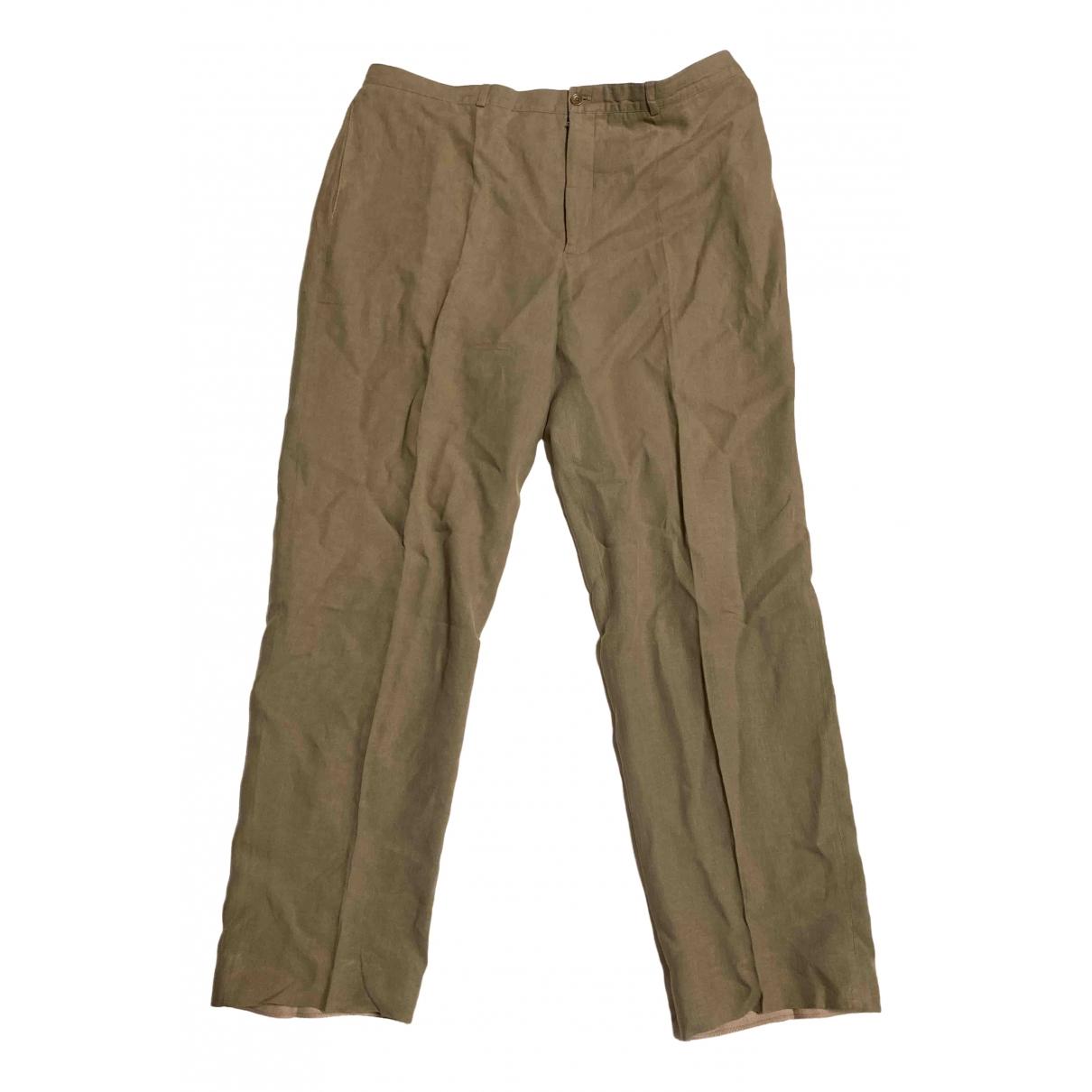 Armani Collezioni \N Cotton Trousers for Men 56 IT