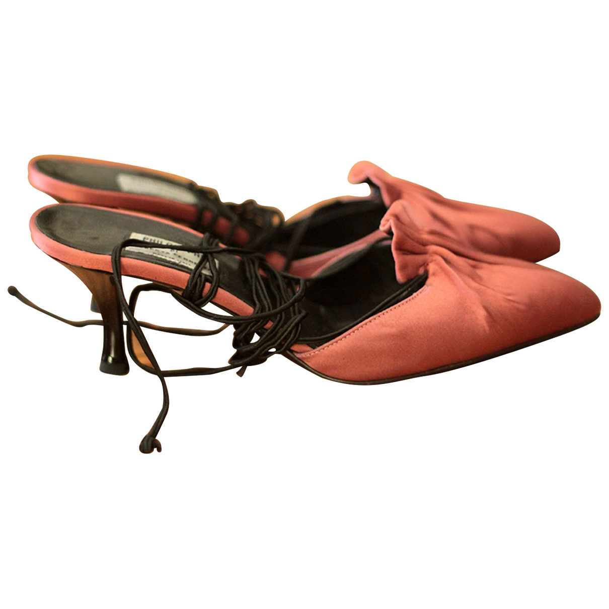 Sandalias de Lona Philosophy Di Alberta Ferretti