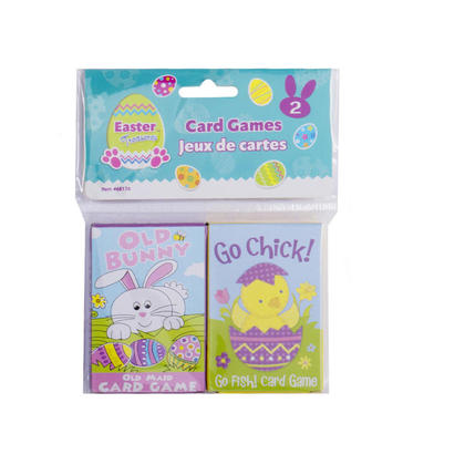 Easter Jeux De Cartes Amusants 2 Pcs/Paquet
