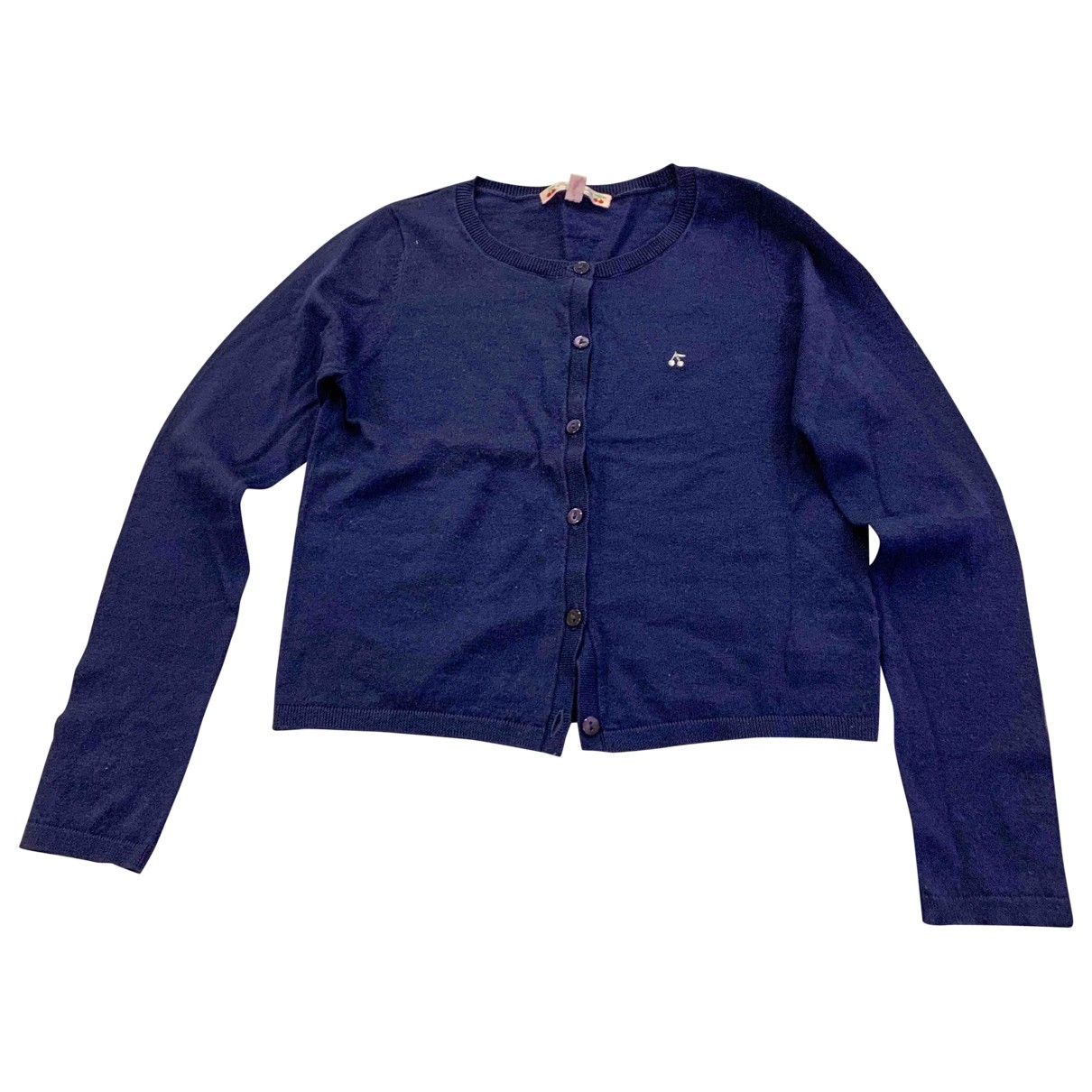 Bonpoint \N Blue Cotton Knitwear for Kids 8 years - up to 128cm FR
