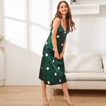 Polka Dot Print Cami Night Dress