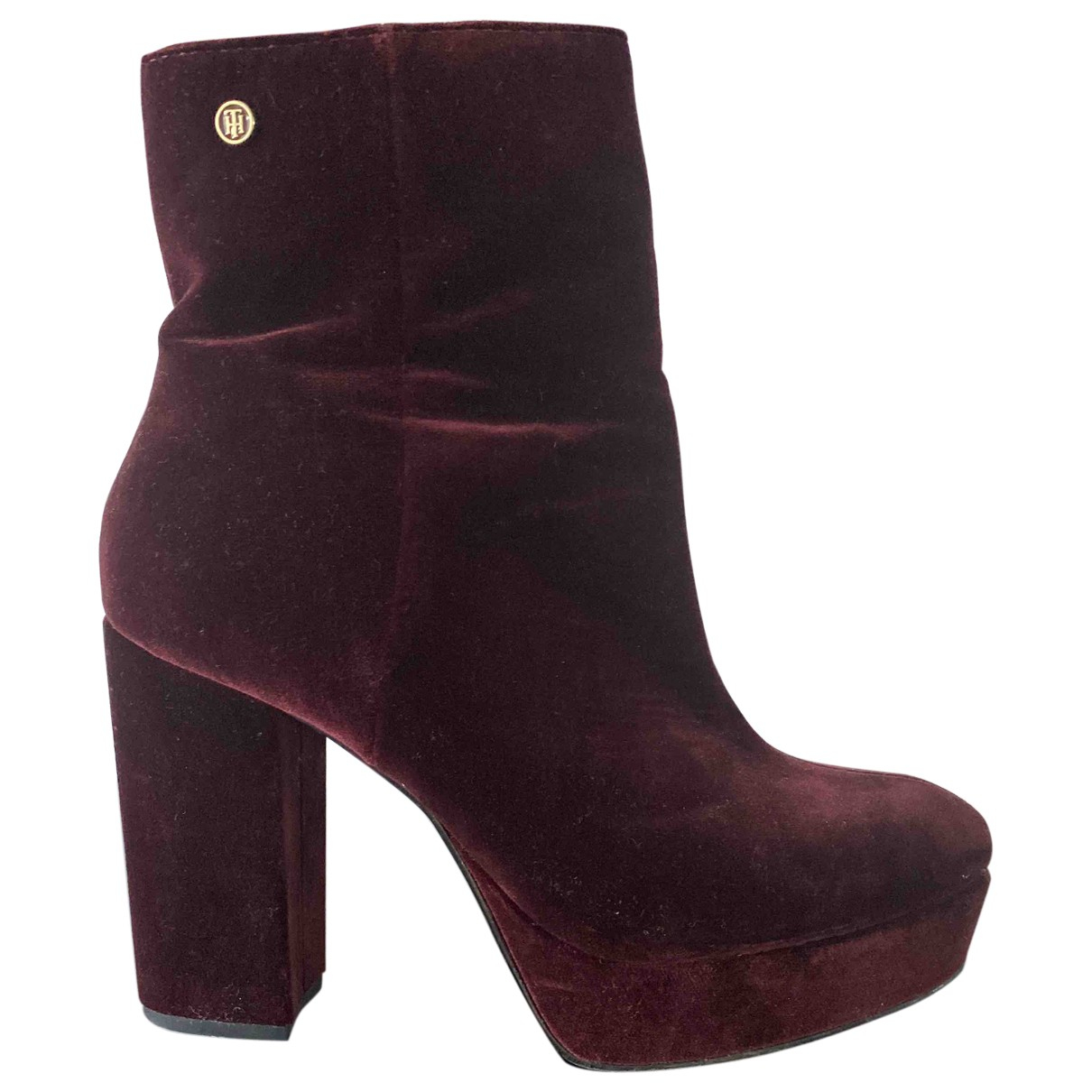 Tommy Hilfiger \N Suede Boots for Women 4 UK