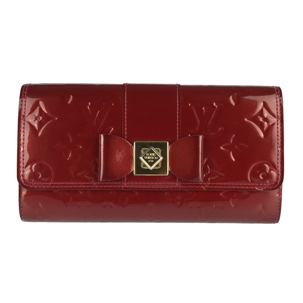 Louis Vuitton \N Red Patent leather wallet for Women \N