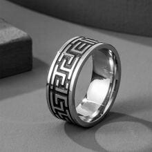 Maenner runder Ring