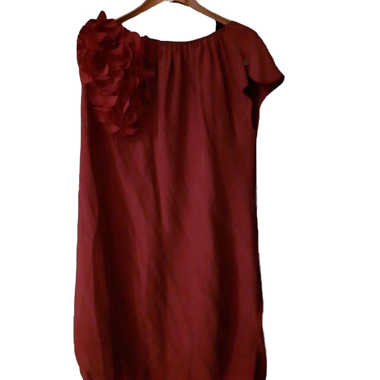 Liu.jo \N Kleid in  Rot Seide