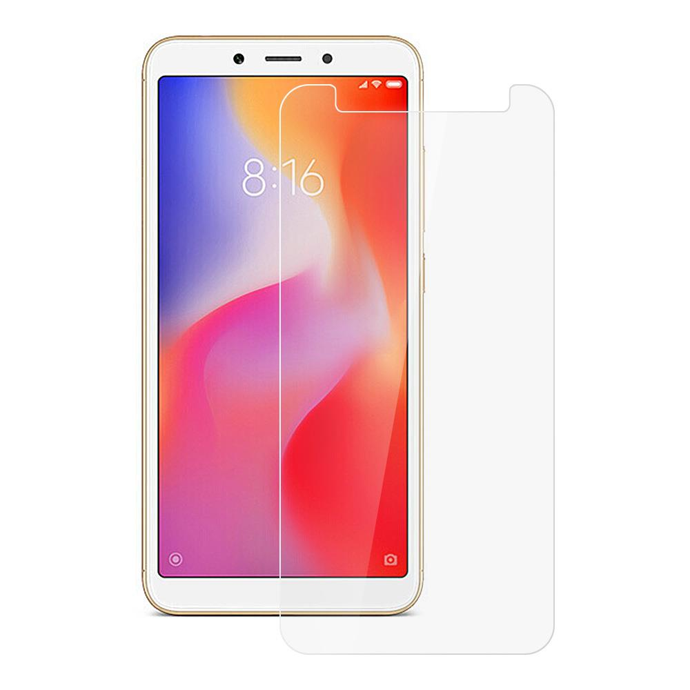 Makibes Tempered Glass Film For Xiaomi Redmi 6A 0.33mm 9H 2.5D Explosion-proof Membrane - Transparent