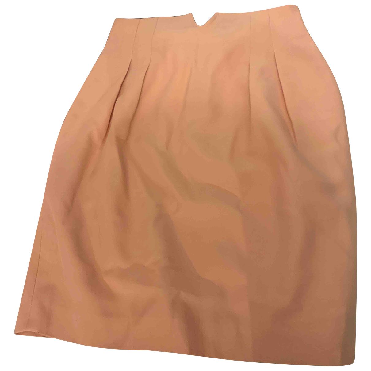 Dior - Jupe   pour femme en laine - rose