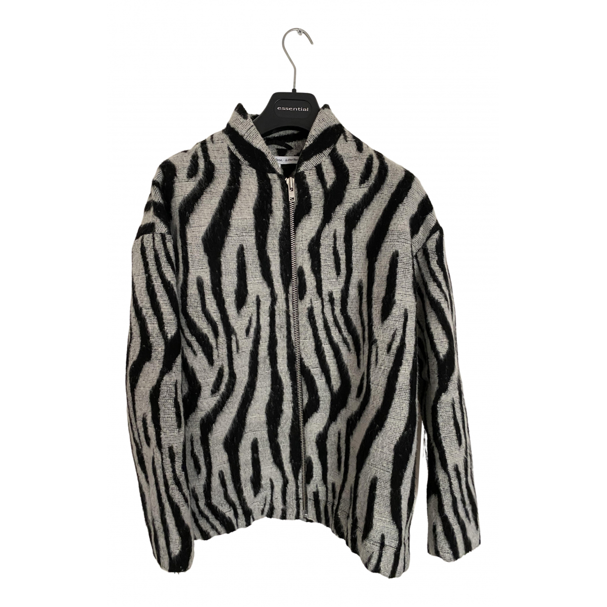 & Stories N Black Wool jacket for Women 42 IT