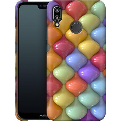 Huawei P20 Lite Smartphone Huelle - Oval Pattern von Danny Ivan