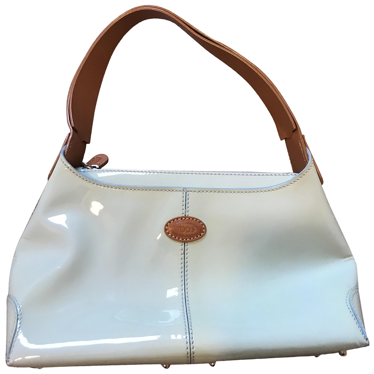 Tod's \N Turquoise Patent leather Clutch bag for Women \N