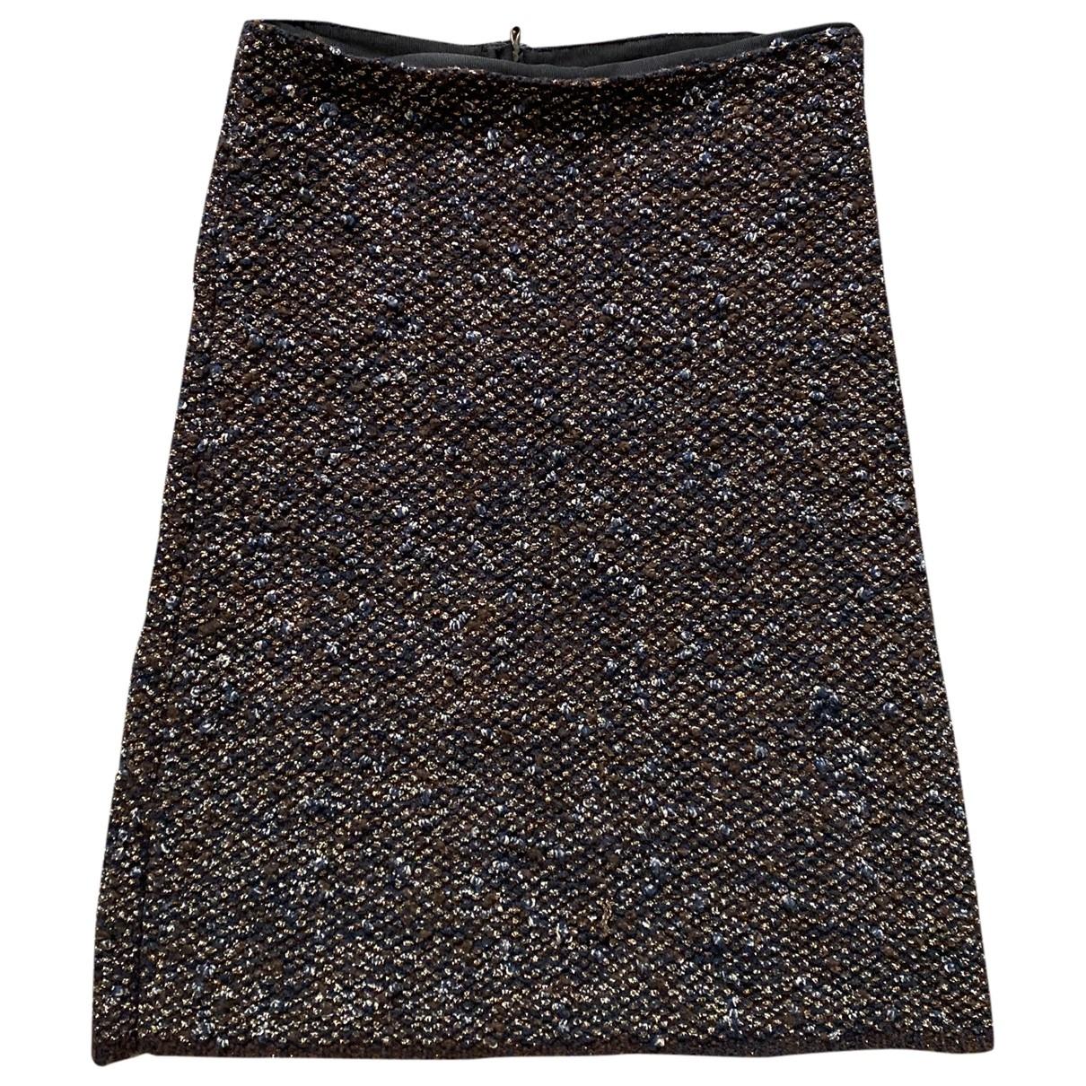 Lanvin - Jupe   pour femme en laine - marron