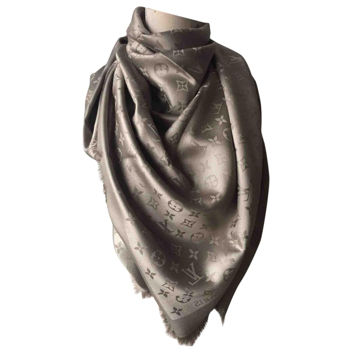 Louis Vuitton Chale Monogram Schal in Seide
