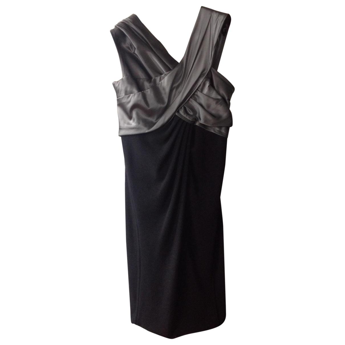 Donna Karan - Robe   pour femme en laine - noir