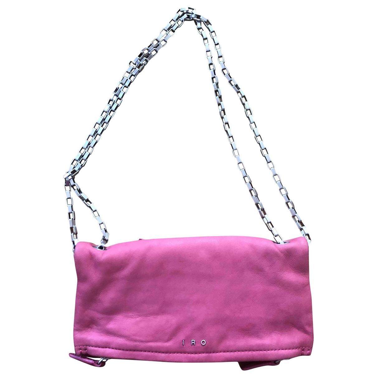 Iro - Pochette   pour femme en cuir - rose