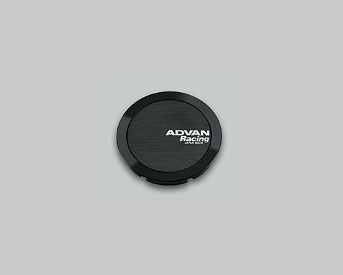 Advan 73mm Center Cap 114.3/120 PCD Full Flat Type Black