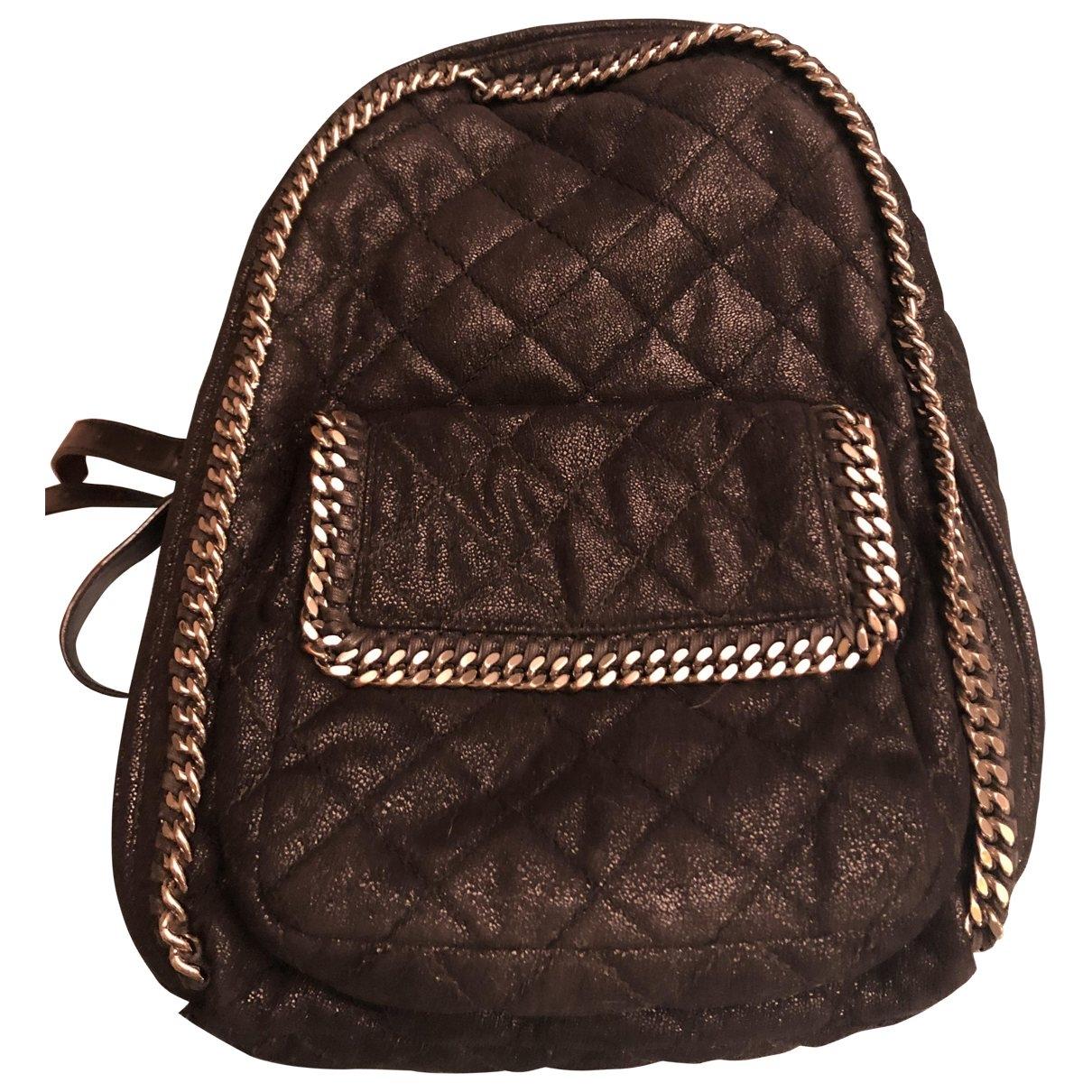 Stella Mccartney \N Black Cloth backpack for Women \N