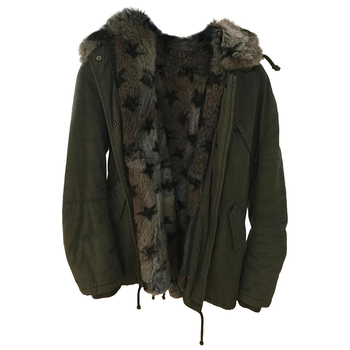 Iq+ Berlin \N Green Cotton jacket for Women XS International