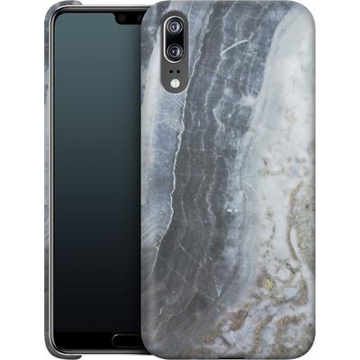 Huawei P20 Smartphone Huelle - Desaturated Marble von Emanuela Carratoni