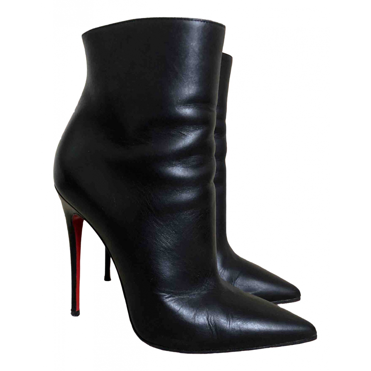 Christian Louboutin So Kate Booty Stiefeletten in  Schwarz Leder