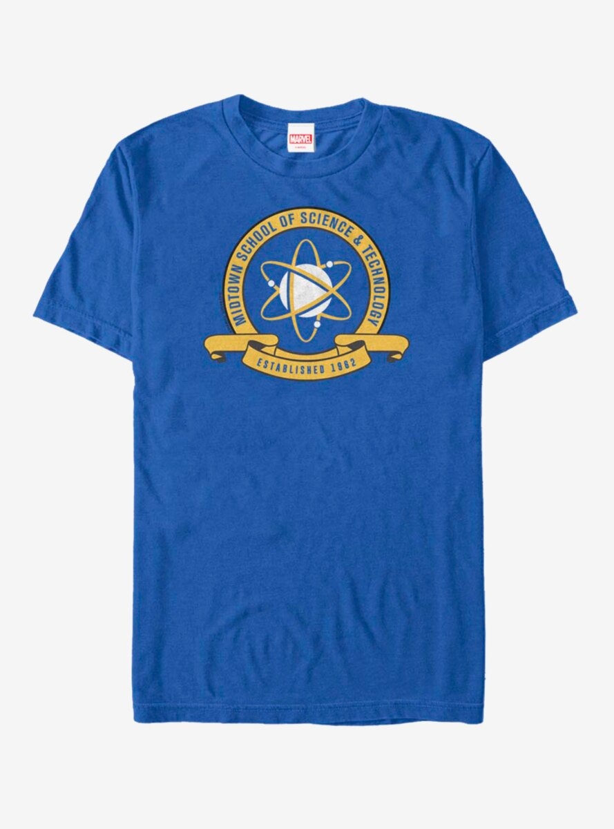 Marvel Spider-Man Homecoming Midtown School Crest T-Shirt