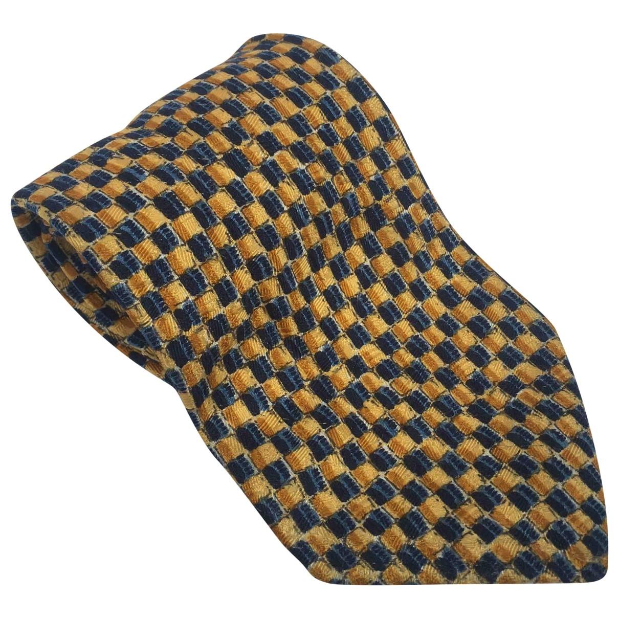 Ermenegildo Zegna \N Yellow Silk Ties for Men \N