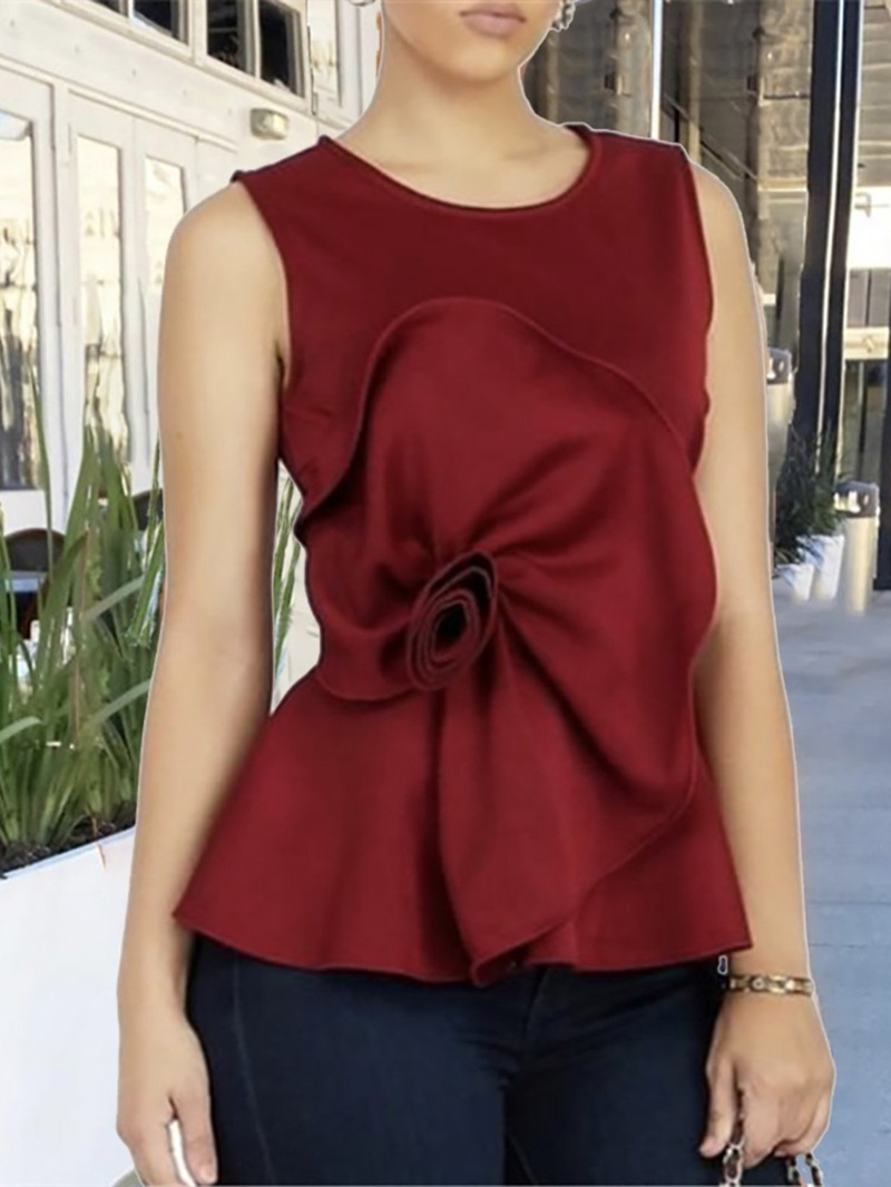 Ericdress I-Shaped Polyester Standard Tank Top
