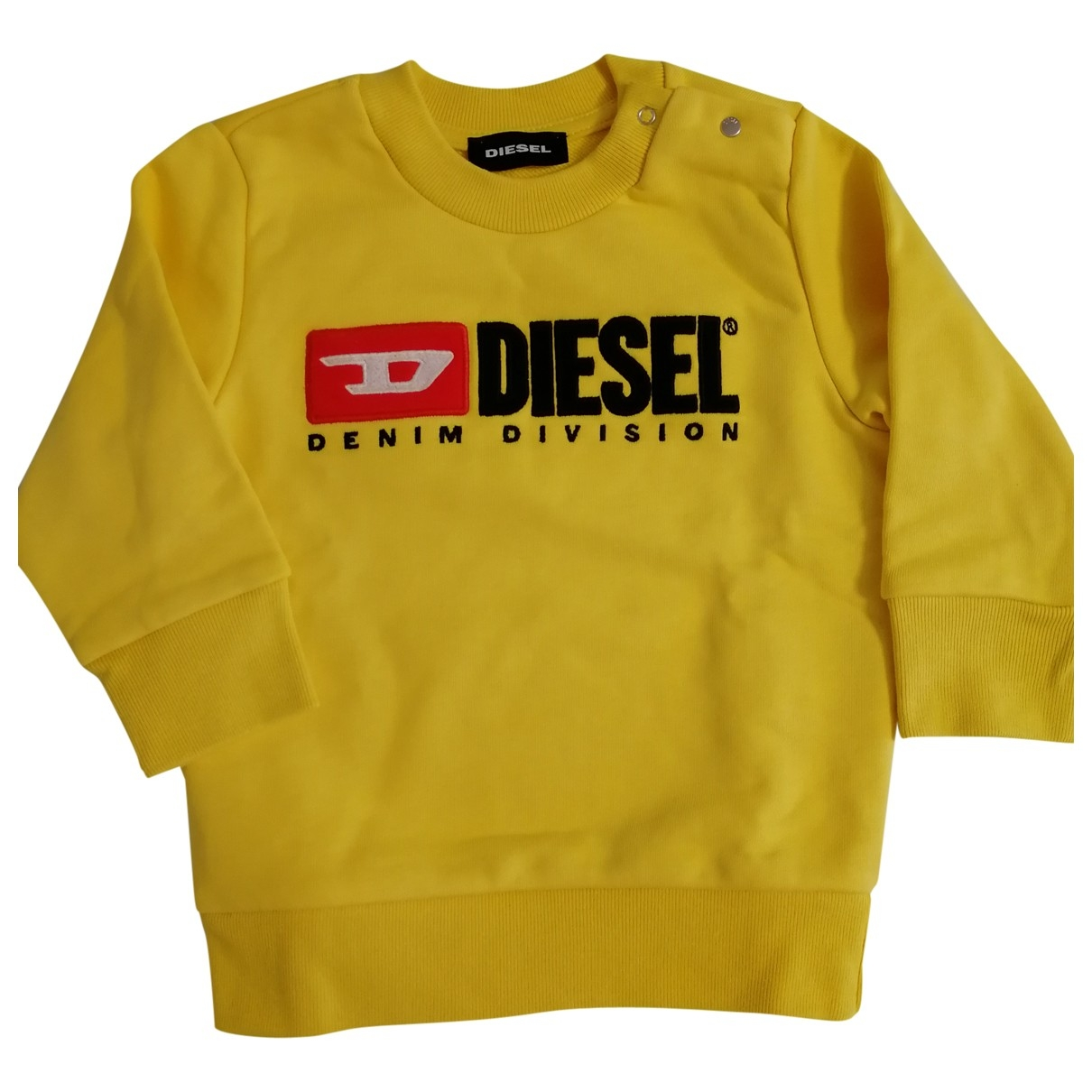 Diesel \N Yellow Cotton Knitwear for Kids 18 months - up to 81cm FR