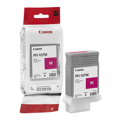 Canon PFI-107M Original Magenta Ink Cartridge