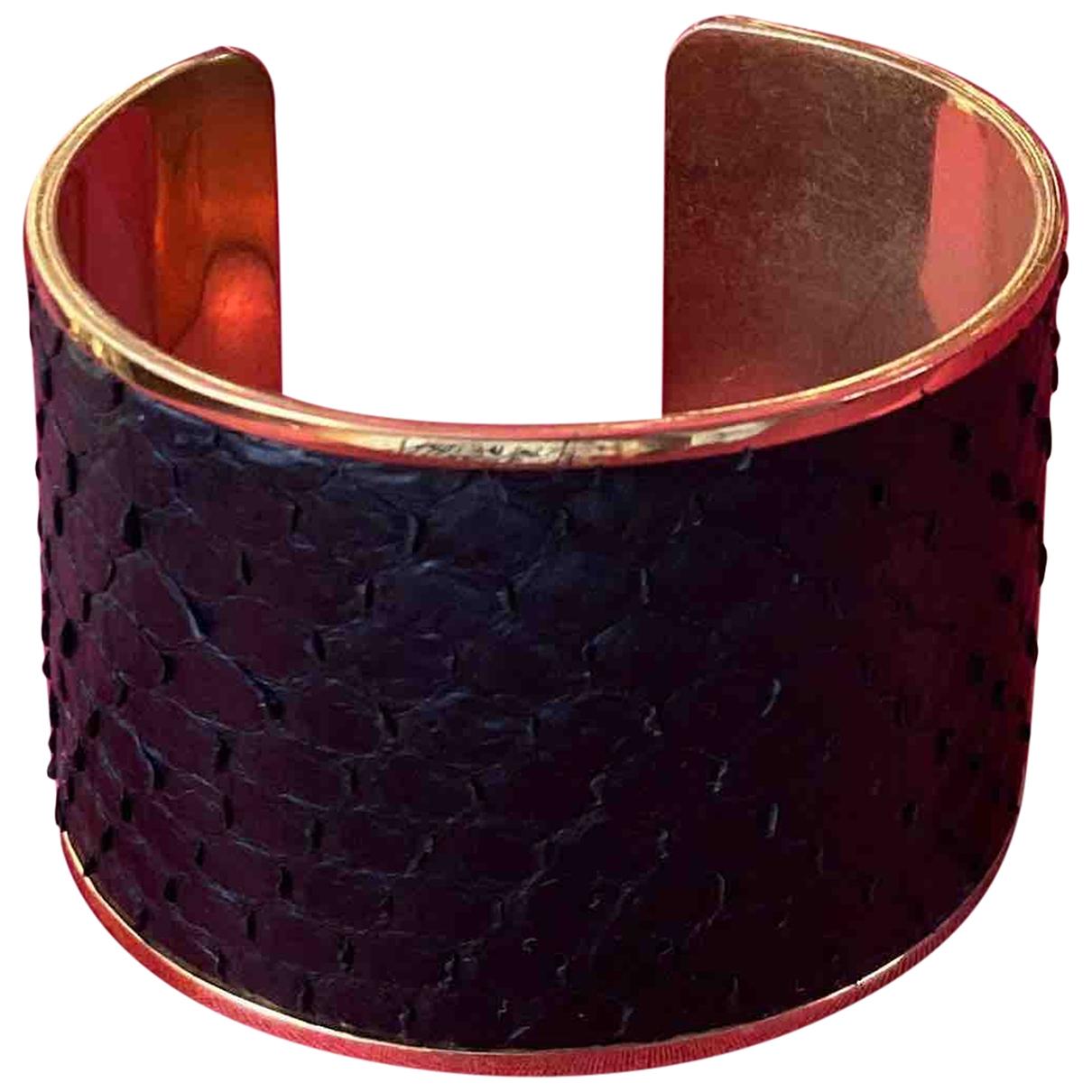 Aspinal Of London \N Black Metal bracelet for Women \N