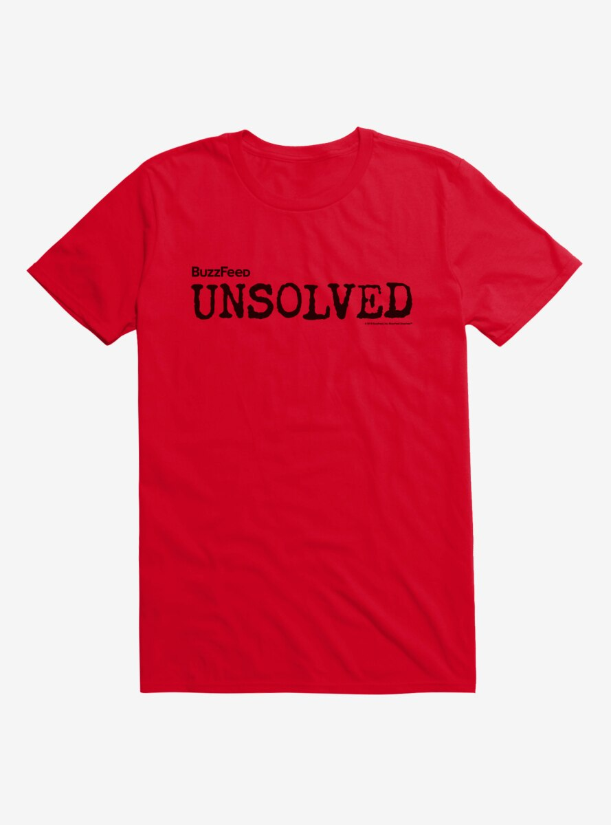 Buzzfeed's Unsolved Logo T-Shirt