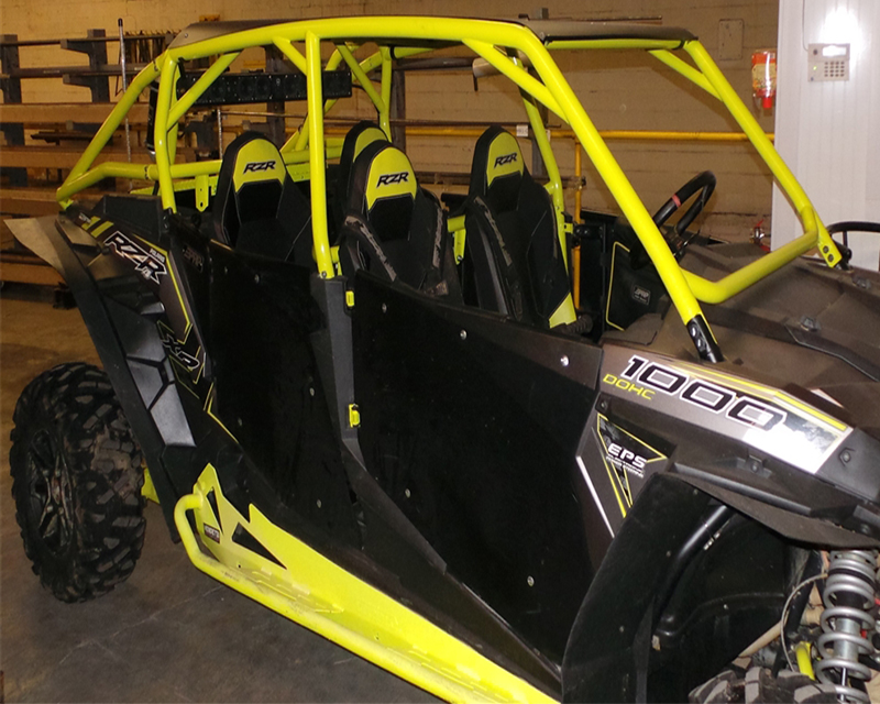 Houser Racing 143301-56 Black Magic 4 Seater Roll Cage Polaris RZR XP1000 14-16