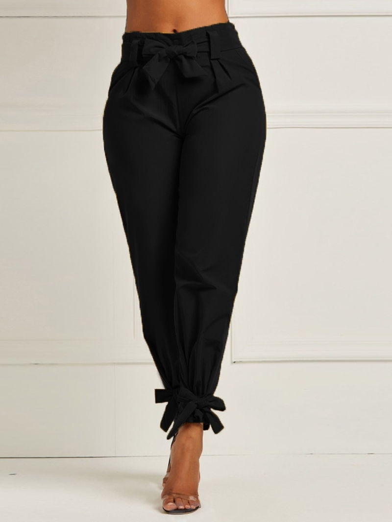 Ericdress Plain Slim Ankle Length Women's Casual Pants