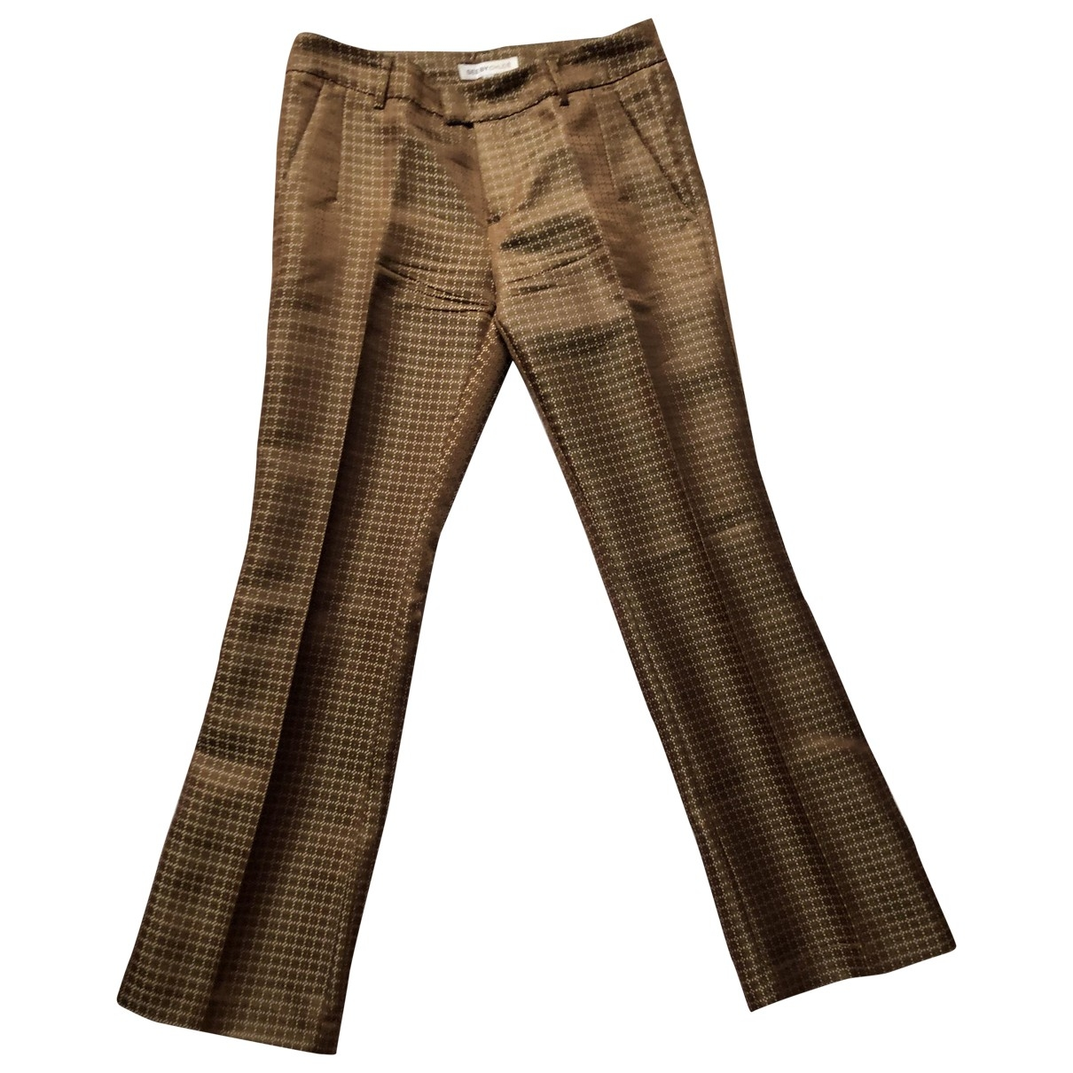 See By Chloé \N Brown Trousers for Women 2 US