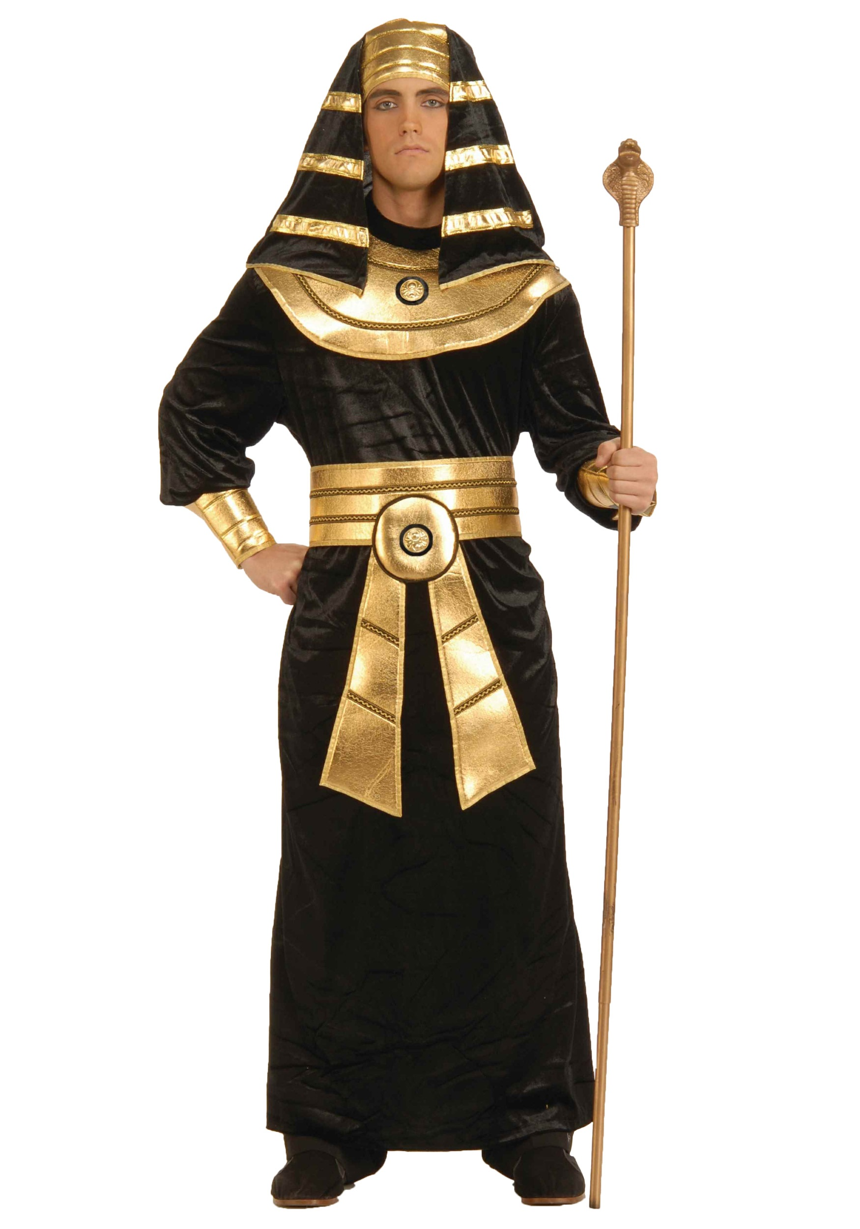 Black Pharaoh Costume for Adults