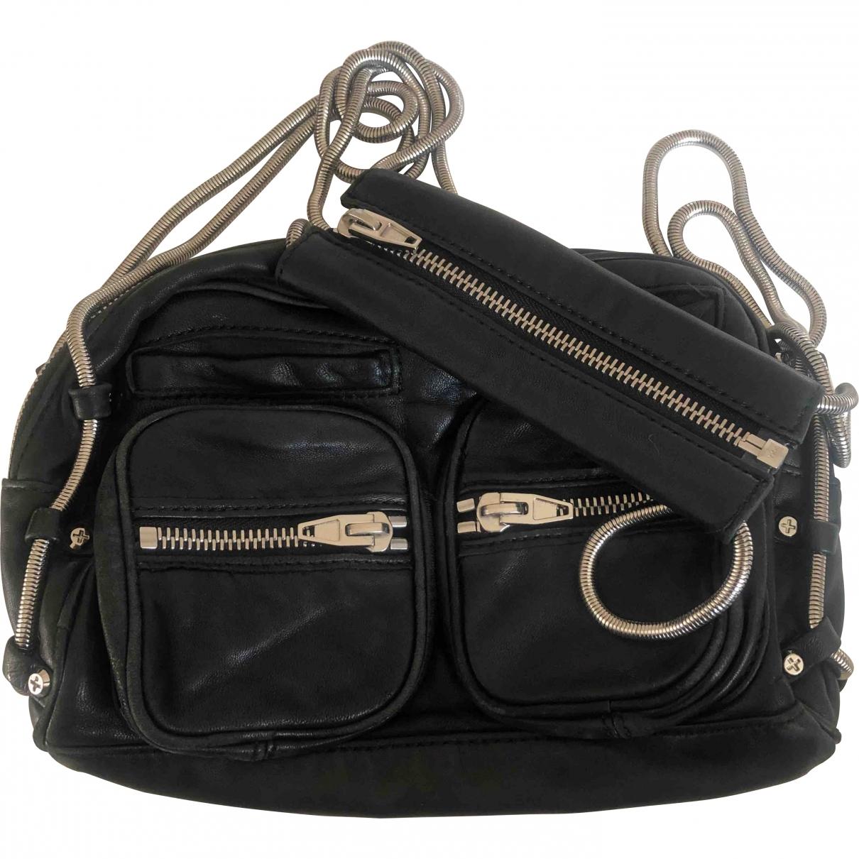 Alexander Wang Brenda Black Leather handbag for Women \N