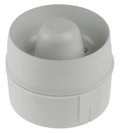 Cranford Controls VPR-MT White 32 Tone Electronic Sounder ,8 → 35 V dc, 103dB at 1 Metre, IP65