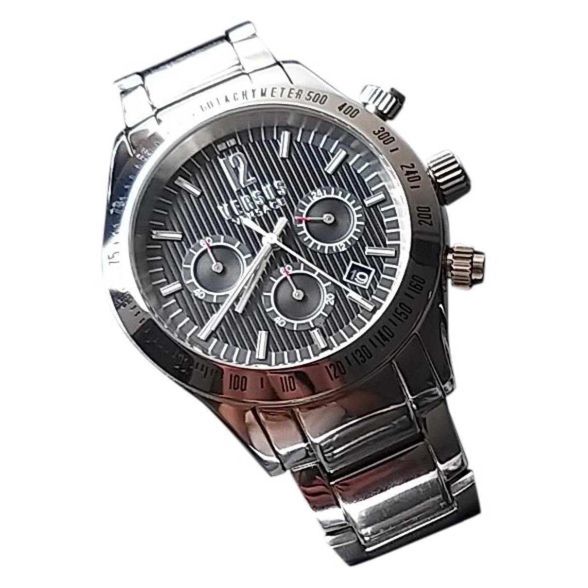 Versace \N Uhr in  Silber Stahl