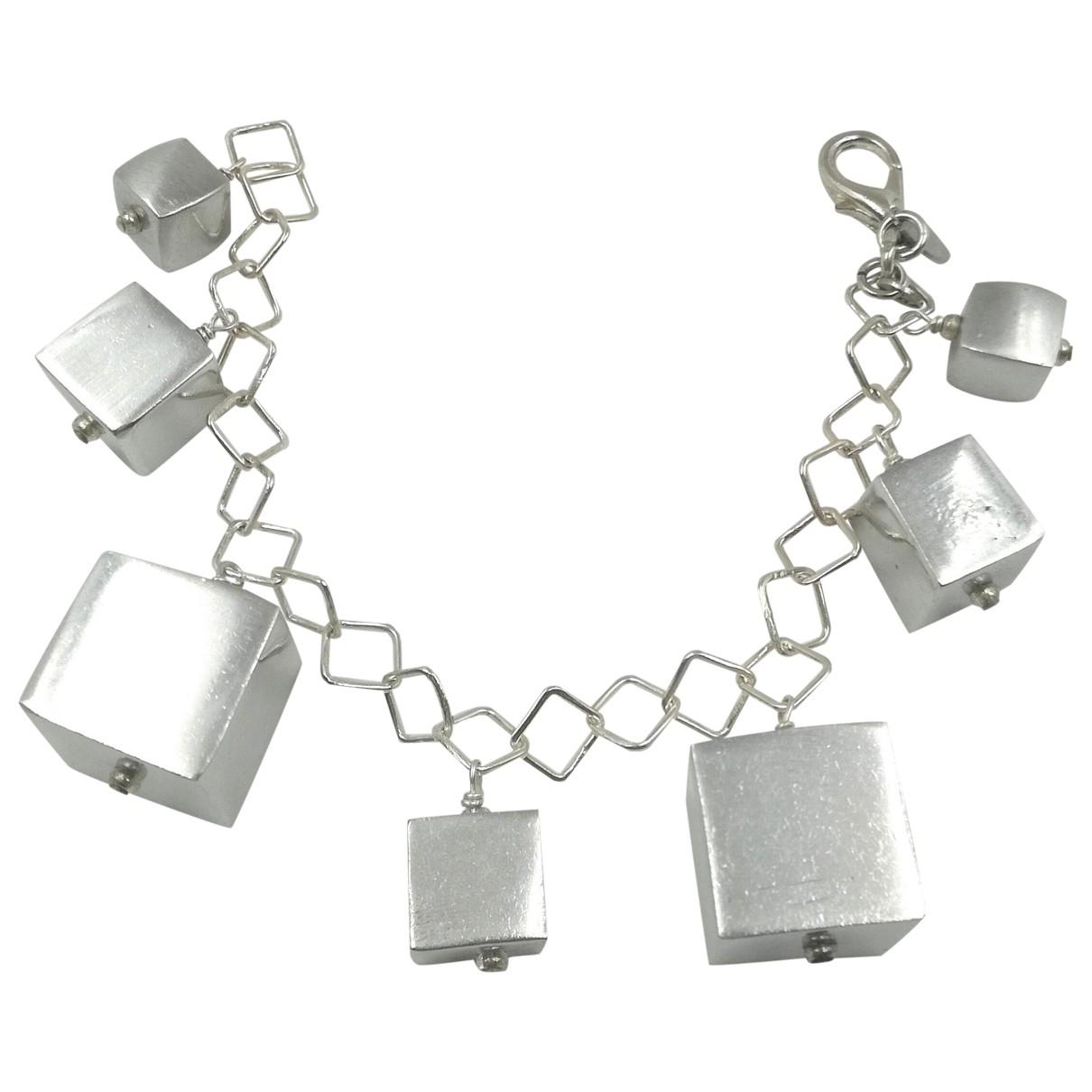 Furla \N Kette in  Silber Stahl