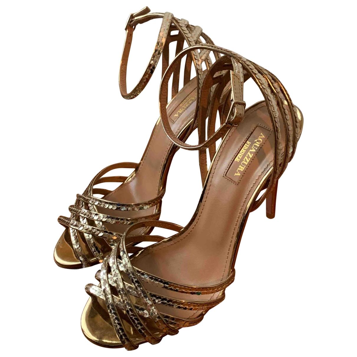Sandalias de Con lentejuelas Aquazzura